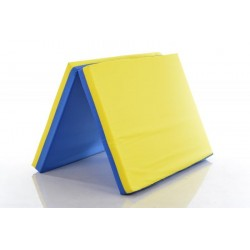 Safety mat 80x120cm blue-yellow