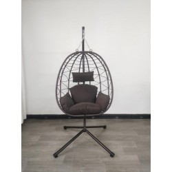 Riputatav tool-kiik muna kokkupandav, statiivil