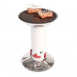Barbecook söegrill LARGO WHITE