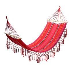 Hammock ROMANCE red striped