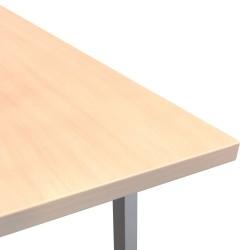 Table top ERGO 160x80cm, birch
