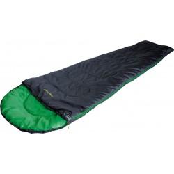Sleepingbag Easy Travel left, anthracite/green