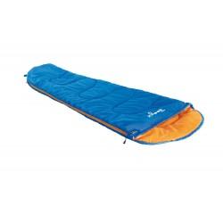Sleepingbag for kids Boogie left, blue/orange