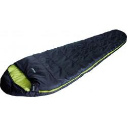 Sleepingbag Safari, darkblue/lime