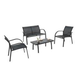 Komplekt BERT laud, pink ja 2 tooli