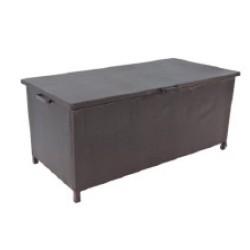 Cushion box MAGIC 174x88xH77cm, black PP