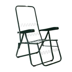 Frame of relax chair BADEN-BADEN 46x155cm, color  green