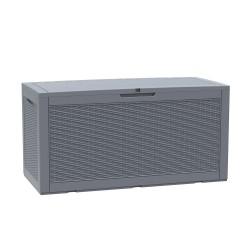Storage box SAYA grey