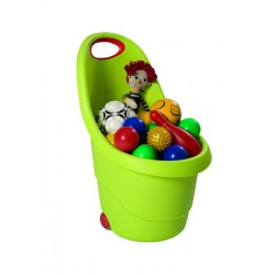 KIDDIE'S GO wheelbarrow, light green