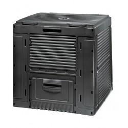 Keter komposter E 470L, must