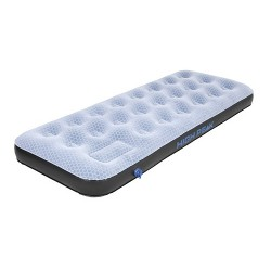 Air bed Single Comfort Plus, grey blue black, 185 x 74 x 20 cm