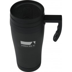Termo cup 0,42 l, stainless Steel, black