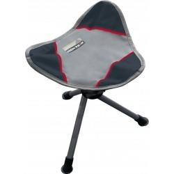 Camp chair Tarifa, folding, grey darkgrey